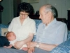 Alger Hiss and Lois Metzger, 1991